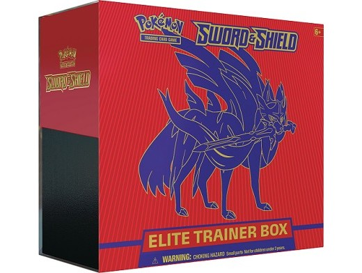 Pokémon TCG Sword & Shield Elite Box Zacian