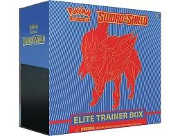 Pokémon TCG Sword & Shield Elite Box Zamazenta
