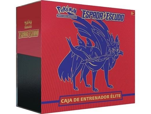 Pokémon TCG Espada y Escudo Caja Elite Zacian