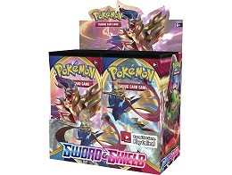Display sobres Pokémon TCG Sword & Shield