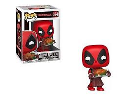Figura Pop: Marvel Holiday - Deadpool Supper Hero