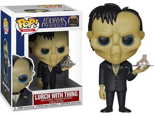 Figura Pop: Movies Addams Family - Lurch w/ Thing