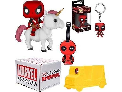 Funko Marvel Collector Corps Box Deadpool