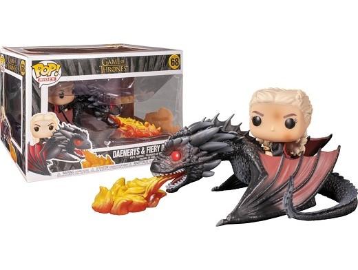 Figura Pop! GoT - Daenerys with Fiery Drogon
