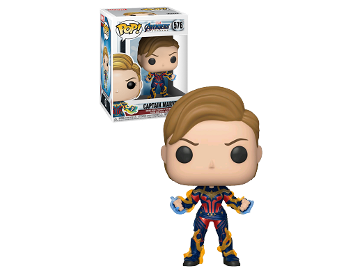 Figura Pop: Avengers Endgame - Captain Marvel
