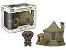 Figura Pop Town Harry Potter - Hagrid's Hut & Fang