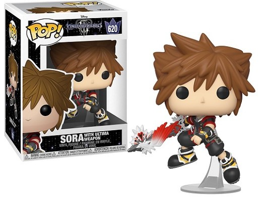 Figura Pop: Kingdom Hearts III - Sora (Ultima W.)