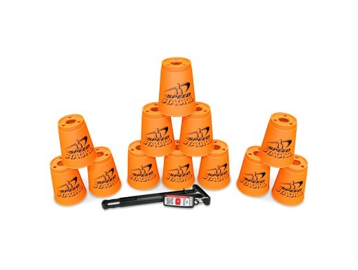 Set de 12 Vasos para Speed Stack - Naranjo