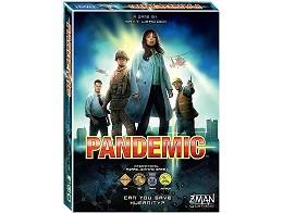 Pandemic - Juego de Mesa (inglés)