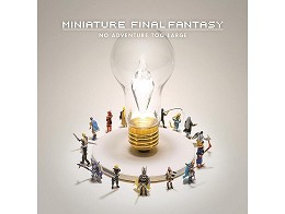 Miniature Final Fantasy (ING) Libro
