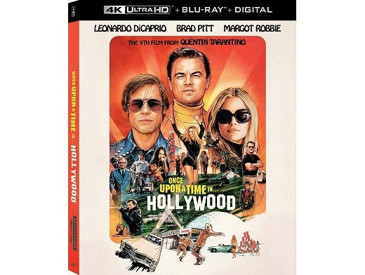 Once Upon a Time in Hollywood 4k Blu-ray