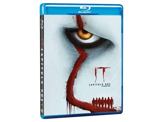 IT: Capítulo Dos Blu-Ray (latino)