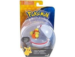 Pokémon Clip And Carry Growlithe And Premier Ball
