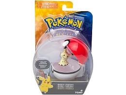 Pokémon Clip And Carry Mimikyu and Poké Ball