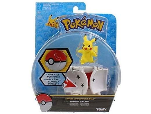 Pokémon Throw N Pop Pikachu and Poke Ball