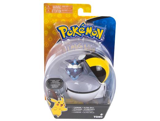 Pokémon Clip & Carry Carbink and Ultra Ball