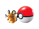 Pokémon Clip & Carry Dedenne & Poke Ball