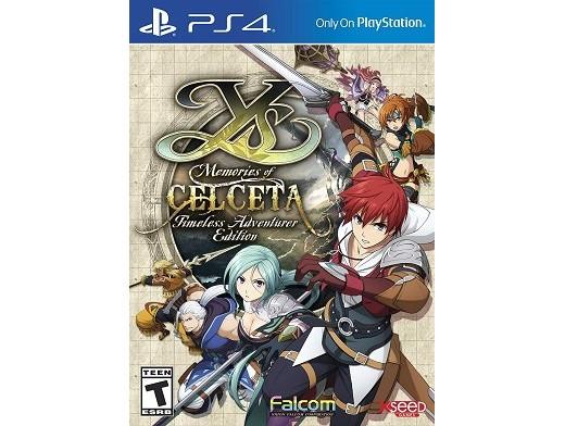 Ys: Memories of Celceta Timeless Adventurer Ed PS4