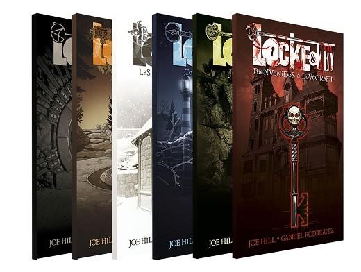 Pack Locke & Key 1-6 (ESP/TP) Comic