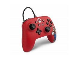 Control con Cable PowerA Mario Edition NSW
