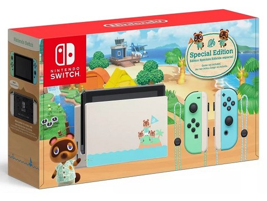 Consola Nintendo Switch Animal Crossing NH