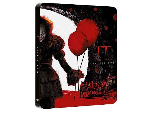 IT: Capítulo Dos Blu-Ray (latino) Steelbook
