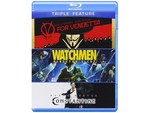 V for Vendetta / Watchmen / Constantine Blu-Ray