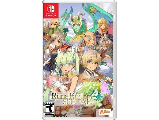 Rune Factory 4 Special NSW