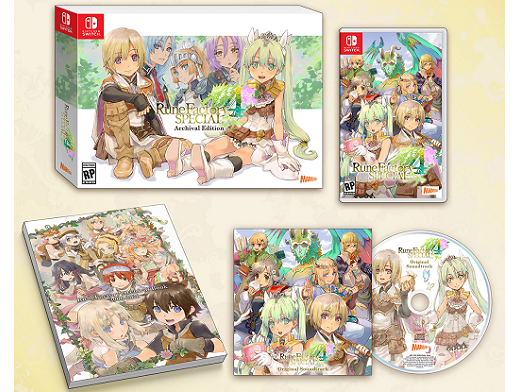 Rune Factory 4 Special Archival Edition NSW