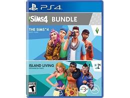 The Sims 4 Bundle plus Island Living PS4