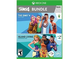 The Sims 4 Plus Island Living Bundle XBOX ONE