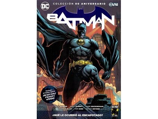 Batman: ¿Qué ocurrió al encapotado? (ESP/TP) Comic