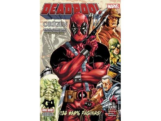 Deadpool: Origen + Deadpool 1000 (ESP/TP) Comic