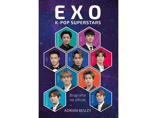 EXO K-Pop Superstars (ESP) Libro