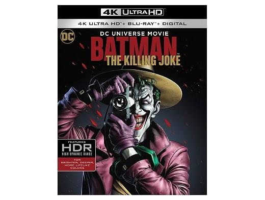 Batman: The Killing Joke 4K Blu-Ray