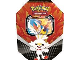 Pokémon TCG Galar Partners Tin - Scorbunny