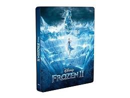 Frozen II Blu-Ray + DVD (latino) Steelbook