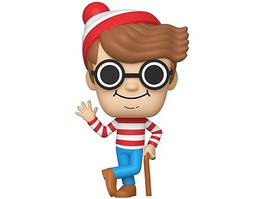 Figura Pop Books: Where's Waldo - Waldo