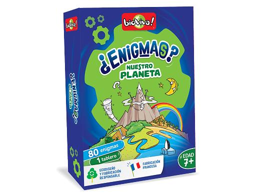 Enigmas: Nuestro planeta - Juego de mesa