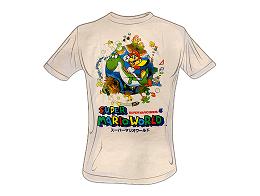 Polera Super Mario World Mario Yoshi