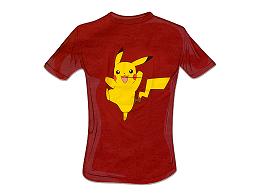 Polera Pokémon Pikachu Red