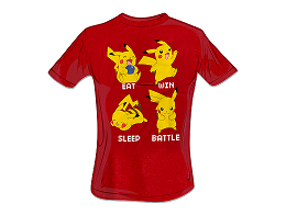 Polera Pokémon Pikachu Mode (niño)