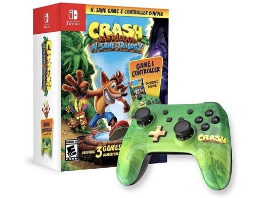 Crash Bandicoot N-Sane Trilogy + Control NSW