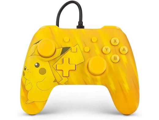 Control con cable Pokémon Pikachu NSW