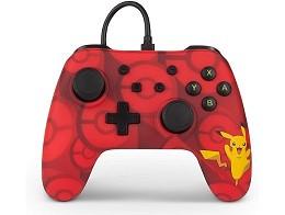 Control con cable Pokémon Enhanced Pikachu NSW