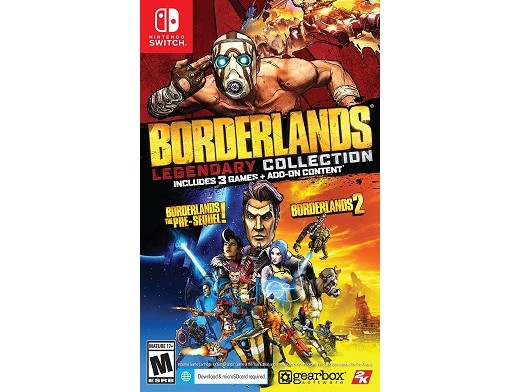 Borderlands Legendary Collection NSW