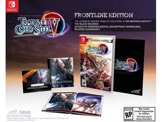The Legend of Heroes: Trails of Cold Steel IV NSW