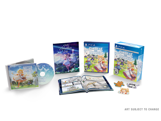 Giraffe and Annika Musical Mayhem Edition PS4