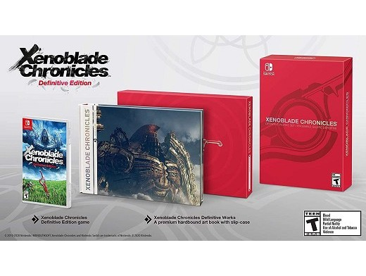 Xenoblade Chronicles: Definitive Ed. Works Set NSW