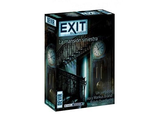 Exit 9 La Mansión Siniestra - Juego de Mesa